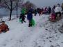 Zimné radovánky detí z I. a II. oddelenia ŠKD
