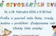 """Základná škola Slobody 2 – """"Nová"""" v Poltári pozýva predškolákov, pani učiteľky a rodičov na Deň otvorených dverí. 16. a […]"""