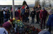 Dňa 2. novembra sme so žiakmi ŠKD navštívili cintorín, kde sme zapálili sviečky pri kríži a pomodlili sme sa. Spomenuli […]