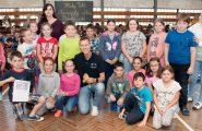 Naši žiaci od septembra 2017 navštevujú Športovú akadémiu Mateja Tótha. Ako Matej sľúbil, chce postupne navštíviť všetky školy zapojené do […]